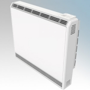 Vent Axia 477913 VASH125E Optimax Plus White LOT20 Compliant Slimline Storage Heater With 7 Day Programmable Timer & Electronic