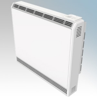 Vent Axia 477910 VASH050E Optimax Plus White LOT20 Compliant Slimline Storage Heater With 7 Day Programmable Timer & Electronic Thermostat IPX4 0.5kW