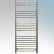 Hyco AQ400LS Aquilo Chrome Slimline Straight 13 Bar Ladder Style Electric Towel Rail With Fixing Kit 400W IPX4 H: 1100mm x W:500