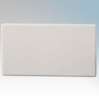 Nobo NTL4N07 LOT20 White Top Outlet Smart Panel Heater - Requires Control Module IP24 750W H:400mm x W:625mm x D:90mm