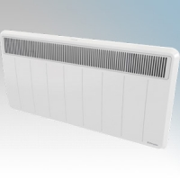 Dimplex PLXC300E PLXE Series White LOT20 Compliant Panel Heater With Slotted Grille, Programmable Room Temperature, 7 Day Timer & Electronic Thermostat IP24 3.0kW