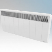 Dimplex PLXC300E PLXE Series White LOT20 Compliant Panel Heater With Slotted Grille, Programmable Room Temperature, 7 Day Timer