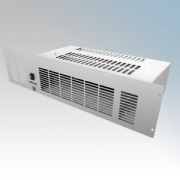 Dimplex BFH24E BFH Range LOT20 Compliant Base Unit Heater With Remote Controlled 7 Day Timer + Temperature Control, Adaptive Start & White/Brown/Stainless Steel Fascias 2.4kW H:120mm x W:490mm x D:226mm