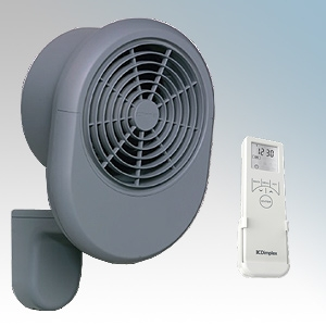 Dimplex PFH30E PFH Range Grey LOT20 Compliant Garage Fan Heater With Bluetooth Remote Controlled 7 Day Timer + Temperature Contr
