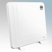 Dimplex DXLWP800TIE7 DXLWP Range White Low Wattage Slimline Panel Heater With 7 Day Timer + Adaptive Start & 3 Heat Settings 800