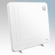 Dimplex DXLWP400TS DXLWP Range White Low Wattage Slimline Panel Heater With Simple On/Off Operation 400W H:500mm x W:600mm x D:2