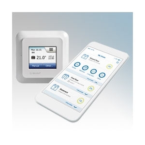 Heatmat NGT-2.0-WIFI NGTouch Wi-Fi White Electronic Wireless App Contolled Colour Touchscreen Thermostat & Timer For Underfloor