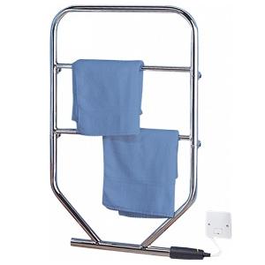 Dimplex TTRC130 TTR Range Chrome Water Glycol Filled Towel Rail IPX4 90W H:851mm x W:533mm x D:93mm