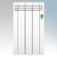 Rointe DIW0330RAD D Series White 3 Element Low Energy Digital Electric Radiator With E-Life Technology Control Options & Wi-Fi App Control 330W H:585mm x W:350mm x D:98mm