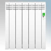 Rointe DIW0550RAD D Series White 5 Element Low Energy Digital Electric Radiator With E-Life Technology Control Options & Wi-Fi A