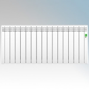 Rointe DIW1600RAD D Series White 16 Element Low Energy Digital Electric Radiator With E-Life Technology Control Options & Wi-Fi