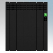 Rointe DIB0550RAD D Series Graphite 5 Element Low Energy Digital Electric Radiator With E-Life Technology Control Options & Wi-F