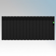 Rointe DIB1600RAD D Series Graphite 16 Element Low Energy Digital Electric Radiator With E-Life Technology Control Options & Wi-