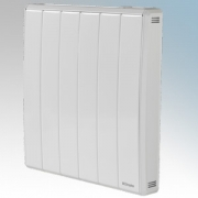 Dimplex QRAD050E Quantum White Electronic Panel c/w RF Module IPX4 Radiator Intelligent Controls 0.50kW