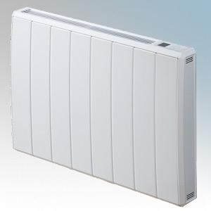 Dimplex QRAD100E Quantum White Electronic Panel c/w RF Module IPX4 Radiator Intelligent Controls 1.0kW