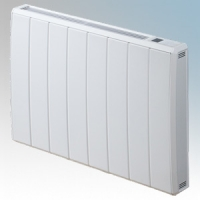 Dimplex QRAD150E Quantum White Electronic Panel Heater With IPX4 Radiator Intelligent Controls (Requires RF Module - Part No. RFM) 1.5kW