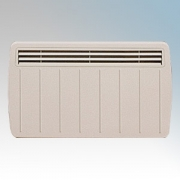 Dimplex EPX1000 EPX Series White Electronic Panel Convector Heater With Thermostatic Control IPX4 1.0kW H:430mm x W:620mm x D:10