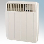 Dimplex PLX500 PLX Series Willow White Ultra Slim Panel Convector Heater With Thermostat IPX4 500W H:430mm x W:450mm x D:108mm
