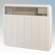 Dimplex PLX1000 PLX Series Willow White Ultra Slim Panel Convector Heater With Thermostat IPX4 1.0kW
