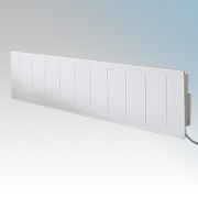 Dimplex LPP075 Saletto White Low Profile Electronic Skirting Panel Convector Heater With Thermostat IPX4 750W