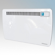 Dimplex LST150 LST Series White Low Surface Temperature Panel Heater With Electronic Thermostat & Touch Control Timer 1.5kW