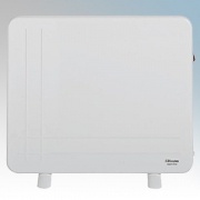 Dimplex DXLWP400 DLXWP Range White Low Wattage Panel Heater With Wall Mounting Kit 400W H:500mm x W:600mm x D:200mm