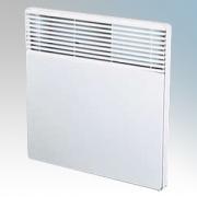Creda HPH750 Newera Plus White Panel Heater With Themostat 750W H:450mm x W:370mm x D78mm