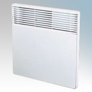 Creda HPH1250 Newera Plus White Panel Heater With Themostat 1.25kW H:450mm x W:520mm x D78mm