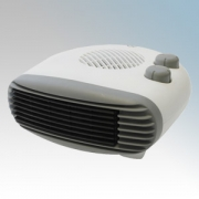 Vent-Axia VAFH2-TC Grey Portable Letterbox Style Fan Heater With Thermostat & Choice Of Heat Setting 2.0kW