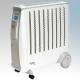 Dimplex CDE2ECC Cadiz Eco Range White/Light Grey Enviro-Sensitive Oil Free Electric Radiator With Rmote Electronic Climate Contr