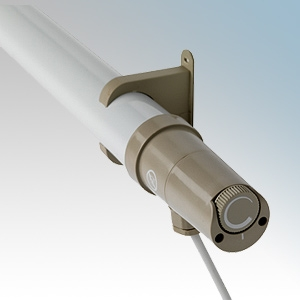 Dimplex ECOT5FT ECOT Range White Tubular Heater With Fixing Brackets & 1.5m Lead With Plug IPX4 200W H: 81mm x L:1630mm x D:80mm