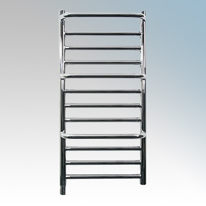 Dimplex Cpts Chrome Compact Stepped Low Wattage Towel Rail