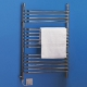 Dimplex BR350C BR Range Chrome 16 Rail Dry/Wet Ladder Towel Rail IPX4 350W Electric / 750W Water H:10035mm x W:630mm x D:155mm
