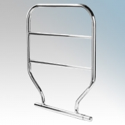 Dimplex TTRC90 TTR Range Chrome Wall Mounting Water Glycol Filled Towel Rail IPX4 60W H:616mm x W:533mm x D:93mm