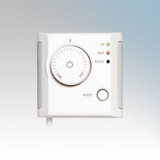 Dimplex RFBT White Wall Mounted Radio Frequency Rotary Controller With 30 Minute Boost Button IPX4