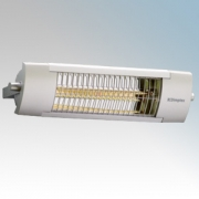 Dimplex OPH20 OPH Range Aluminium Outdoor Quartz Halogen Patio Heater With Fitted Guard IP24 2.0kW