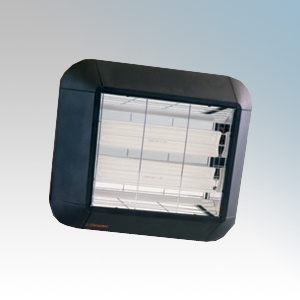 Dimplex CXD2000VPIR CXD Series Aluminium Ceramic Infra-Red Vertical Radiant Heater With DX4131 200° | 12m PIR Sensor IPX4 2.0kW