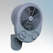Dimplex PFH30 PFH Range Grey Wall Mounting Garage Fan Heater With Thermostat, Wall Bracket & Cool Blow Air Circulation 3kW