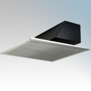 Dimplex AC3CN AC Range White Ceiling Recessed Warm Air Curtain With Wall Mounted Controller & Ceiling Grille 3.0kW