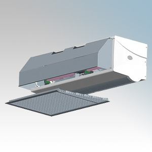 Dimplex CAB10ER CAB Range 3 Phase Recessed Electrically Heated, Heat Output: 4.5kW/9.0kW Air Volume: 1200m³/hr 380V-415V