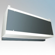 Dimplex IAB15W IAB Range Single Phase Water Heated Industrial Air Curtain Heat Output: 41kW Air Volume: 6900m³/hr 220V-240V