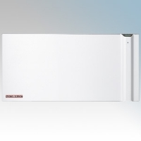 Stiebel Eltron CND75 234813 White Low Energy Electric Radiator With 2 Heating Systems For Radiant + Convection Heating, 7 Day Timer & Intelligent Energy Saving Electronic Control IP24 750W W:675mm x H:504mm x D:120mm