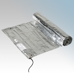 Heatmat CBM-150-0200 Combymat Underfloor Heating Mat With Dual Conductor System W: 0.5m x L: 4.0m - Coverage: 2.0m² - 300W 230V  150W/m²