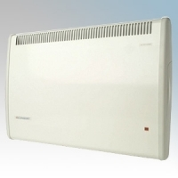 Consort PRX125 PRX Series White Wireless Controlled Panel Convector Heater - Requires Wireless Controller 1250W H:430mm x W:614mm x D:93mm