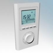 ElectroRad TFS White 1 Zone Wireless Radio Control Programmer For Use With Wireless Enabled Aeroflow Electric Radiators