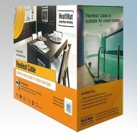 Heatmat FLX-PRI-0300 FlexHeat Flexible Heating Cable With Primer Length : 1.6m To 2.2m - 300W 230V