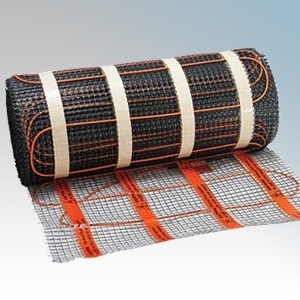 Heatmat WHM-200-0060 Wall Heating Mat W: 0.5m x L: 1.2m - Coverage: 0.6m² - 130W 230V 200W/m²